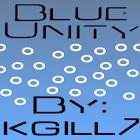 Blue Unity CM7 Theme(Trans) icon
