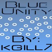Blue Unity CM7 Theme(Trans)