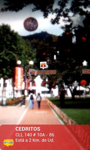 Davivienda aplicación android ios pantallazo screenshot realidad aumentada