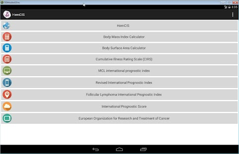 HemCIS Hematology Calculator screenshot for Android