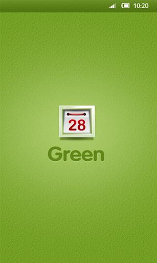 360手机桌面-green