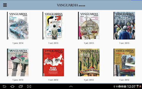 Vanguardia Dossier screenshot 4