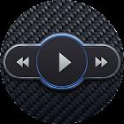 Skin for Poweramp Carbon Fiber icon