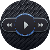 Skin for Poweramp Carbon Fiber