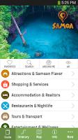Screenshot of Samoa Smart Guide