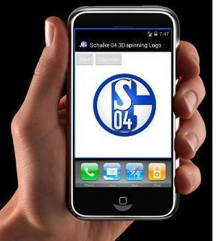 Schalke 04 Spinning Logo 3D A
