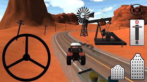 Traktörle Petrol Taşıma 3D HD