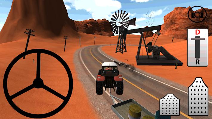 Traktörle Petrol Taşıma 3D HD - screenshot