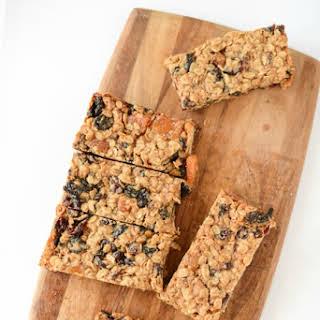 Homemade Soft Granola Bar Tutorial (Fruity Oaty Bars Recipe).