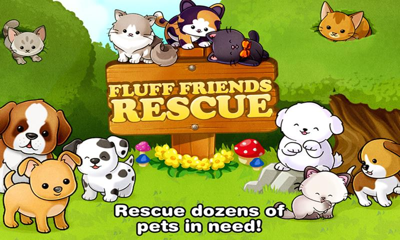 Fluff Friends Rescue TM - screenshot