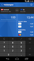 Screenshot of Nordfyns Banks Mobilbank