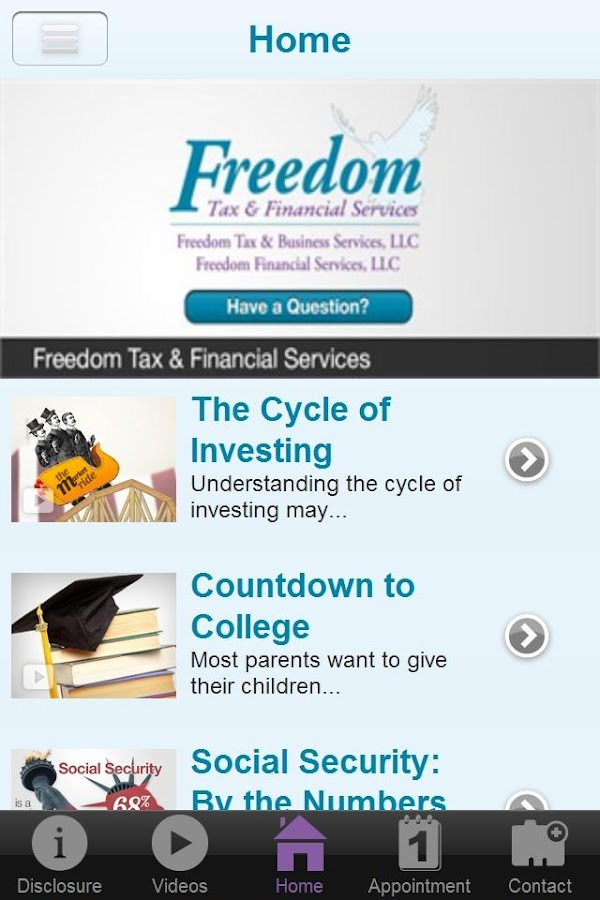 Freedom Tax- screenshot