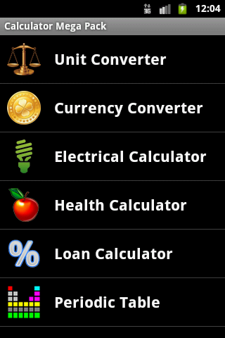 Calculator Mega Pack - screenshot