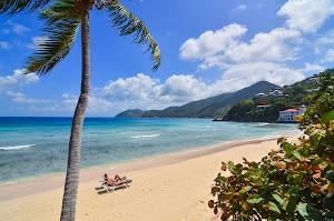 The Long Bay Beach Club on Tortola, British Virgin Islands.