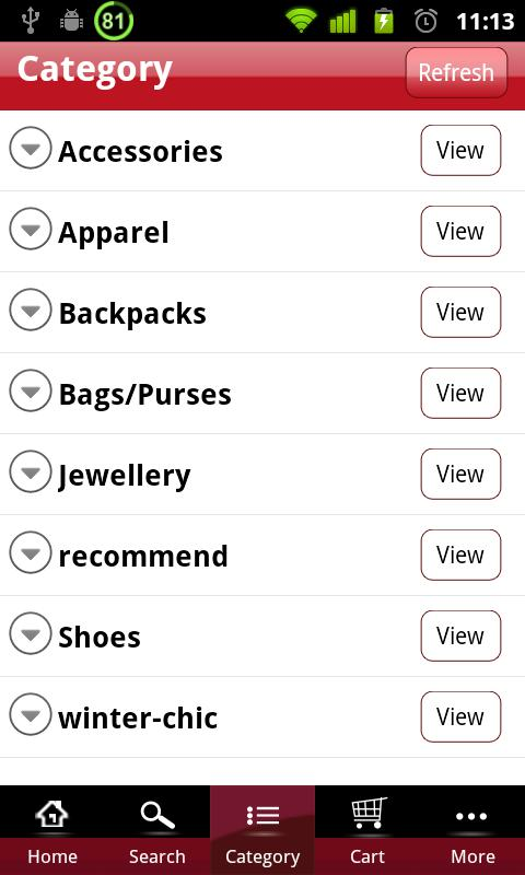 OASAP Mobile Shopping - screenshot