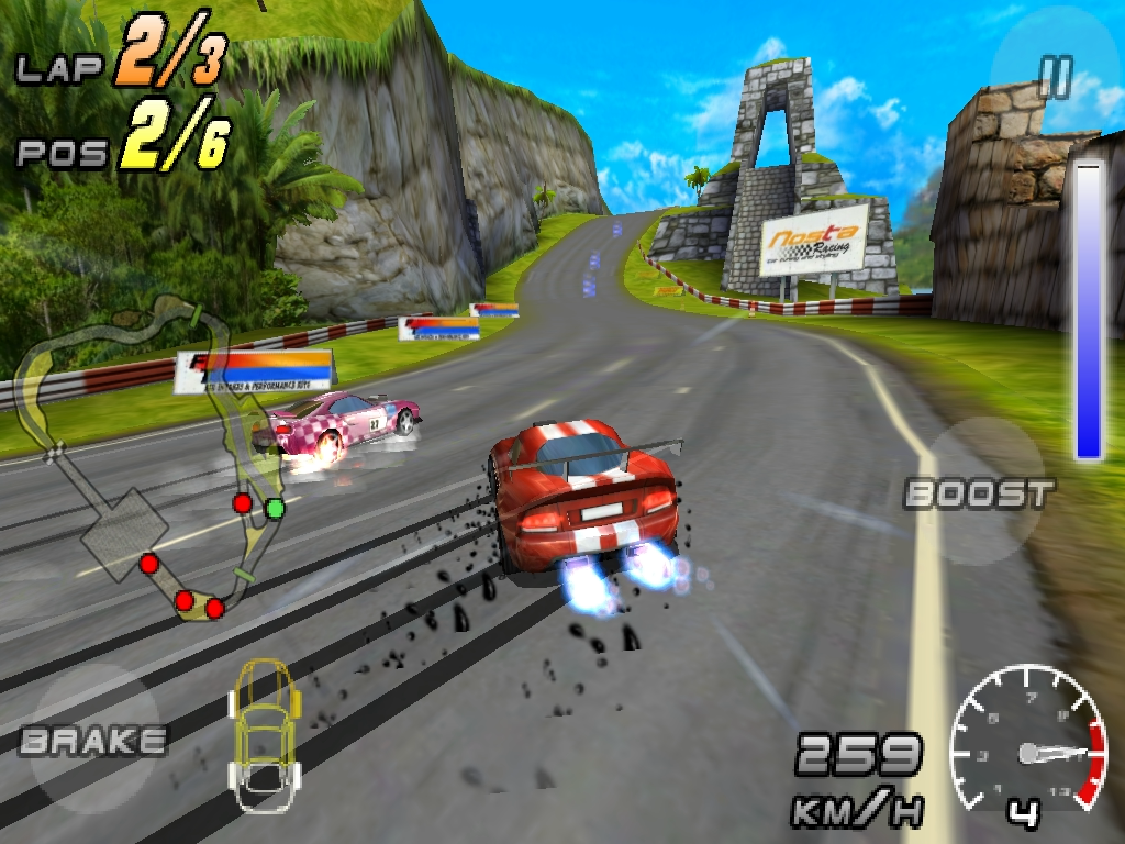Raging Thunder 2 HD- screenshot