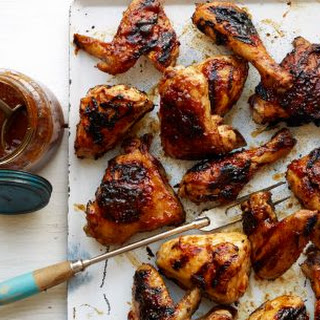 Beer-Brined Barbecue Chicken