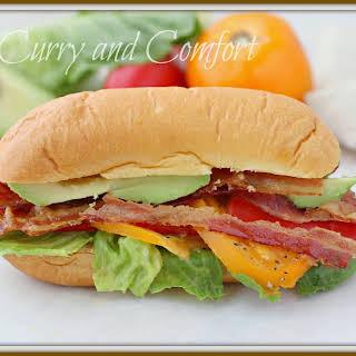 Avocado BLT Sandwich.