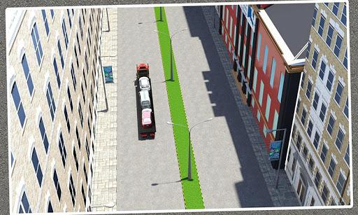 汽车运输拖车卡车 3D