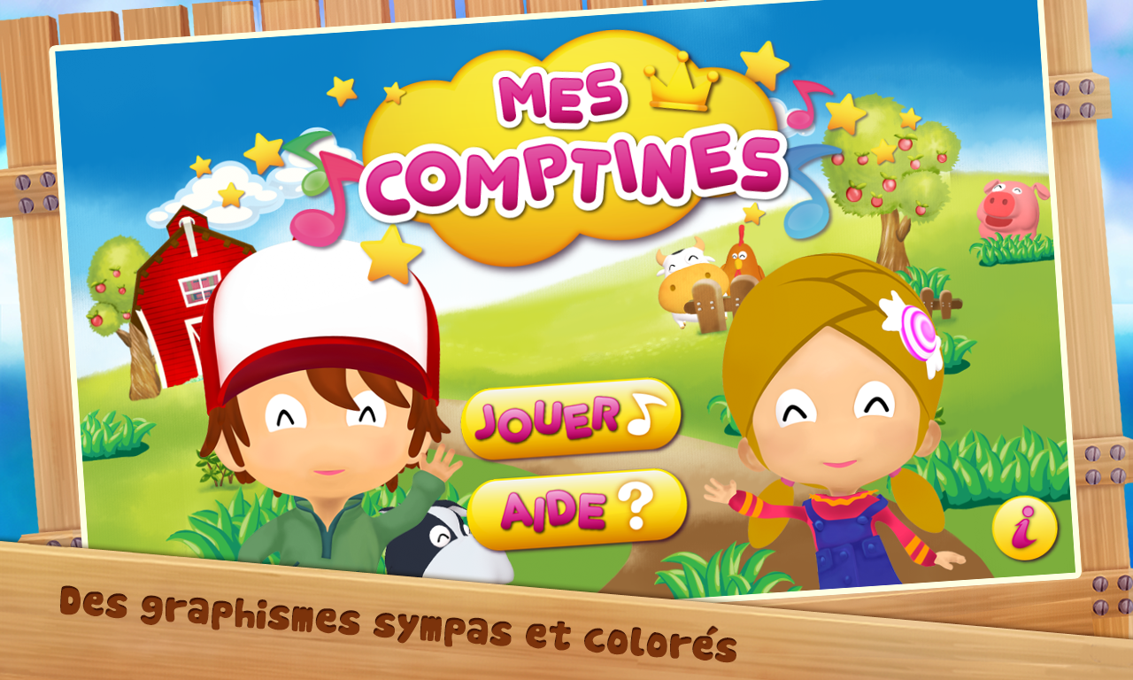 Comptines- screenshot