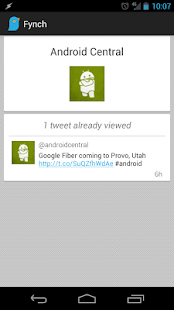 Fynch - A Twitter Extension - screenshot thumbnail