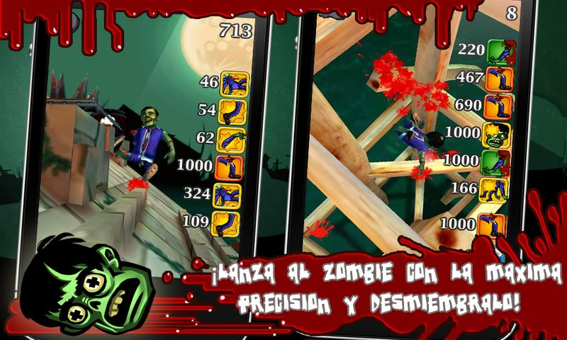 Push the Zombie - screenshot