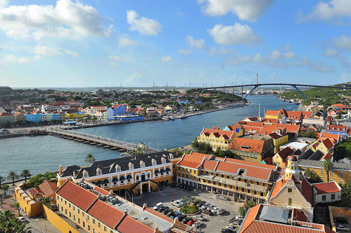 Curacao-Handelskade-cityscape - UNESCO has listed the beautiful historic area of Willemstad, Curacao, as a World Heritage Site.