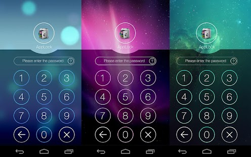 AppLock Theme Space للأندرويد