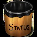 Social Status Bucket icon