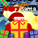Angry Ginger Santa icon