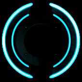 Neon Disk Live Wallpaper