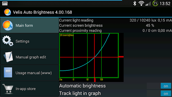Velis Auto Brightness Screenshot