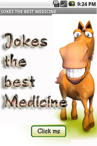 Jokes the best medicine - screenshot
