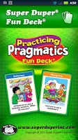 Screenshot of Practicing Pragmatics Fun Deck
