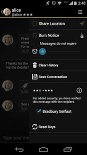 Silent Text - secure messages - screenshot thumbnail