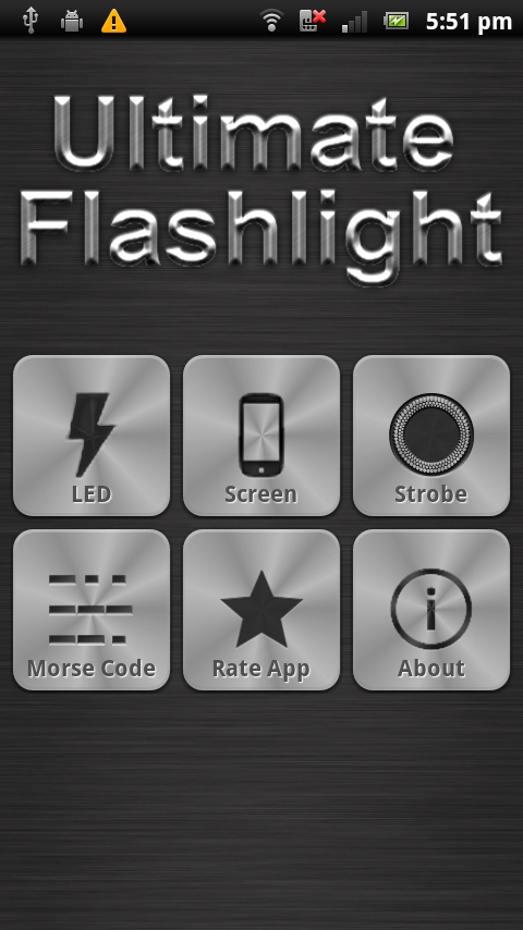Ultimate LED Flashlight - screenshot