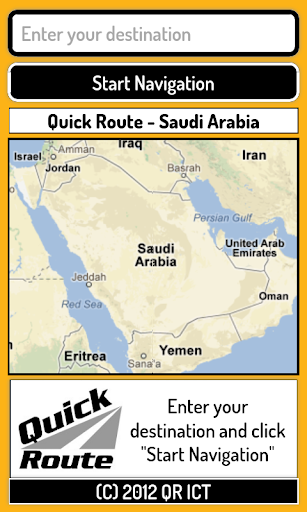 Quick Route Saudi Arabia