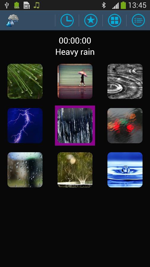 Sounds Of Rain Relax your Mind- screenshot