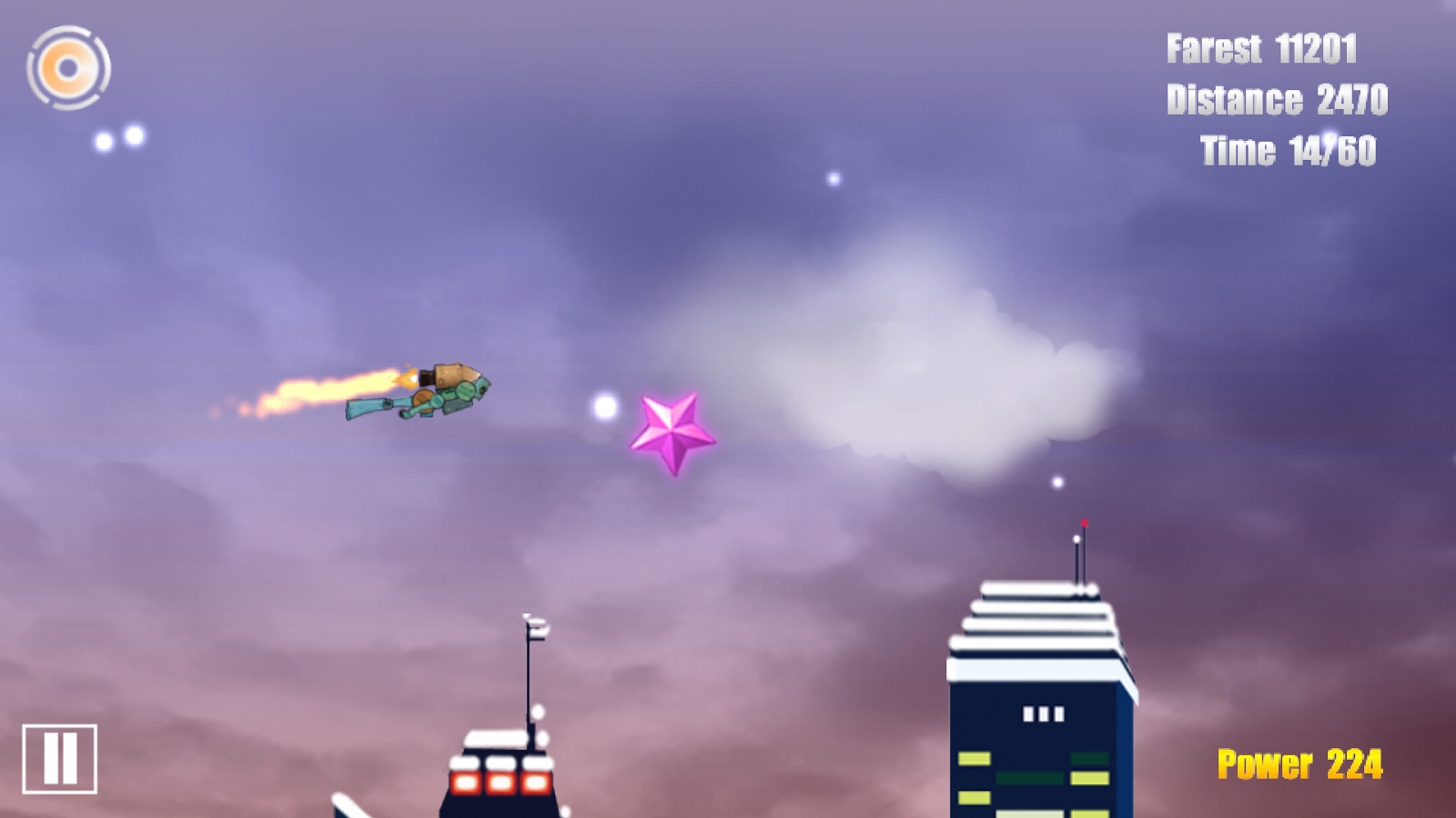 Jet Fly(II) - screenshot
