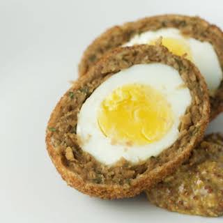 Vegetarian Scotch Egg.