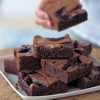 Chocolate-Raspberry Brownies