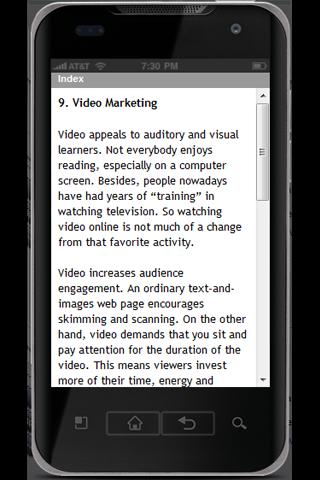 Marketing Strategies - screenshot