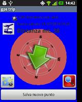Screenshot of GPS gp