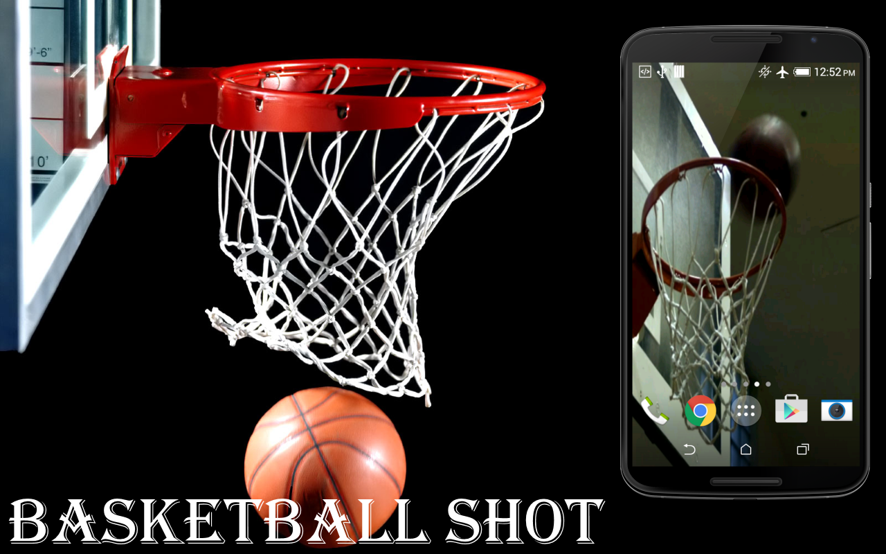 basketball shot live wallpaper android apps on google play