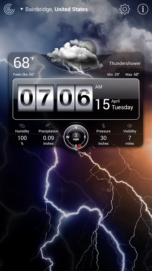 Weather Live - screenshot
