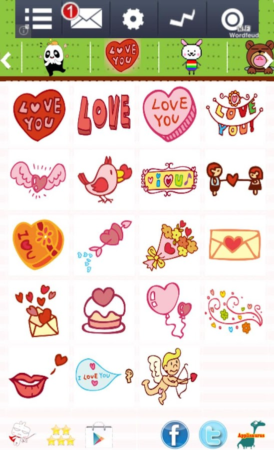 Cute Emoticons  amp  Sticker   Android Apps on Google Play Cute Emoticons  amp  Sticker  screenshot