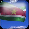 3D Suriname Flag icon