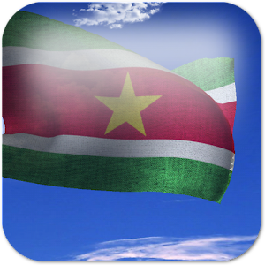 3D Suriname Flag LWP + for Android