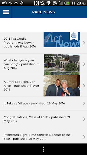 Pace Academy Community App