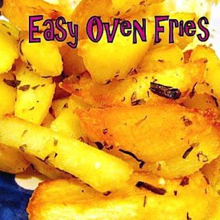 Easy Homemade Oven Fries